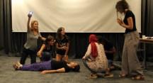 Engelli bireylerle tiyatro yapmayı öğrendiler