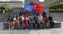 Şişlili öğrencilerin Brüksel çıkarması