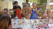 NİLSEM kursiyerleri eserlerini Çanakkale'de sergiledi