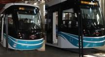 Kocaeli'nin tramvayları Bursa'da üretiliyor