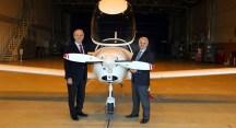 Bursalı Gökçen Grubu ilk uçağı Ankara'ya indirdi