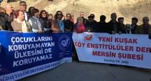 Laik ve Bilimsel Eğitim Platformu temsilcileri Aladağ'da