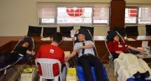Sınav Koleji'nden Kızılay'a 249 ünite kan bağışı