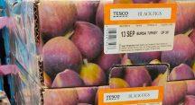 İngiliz marketlerinde 'Bursa Karası' incir