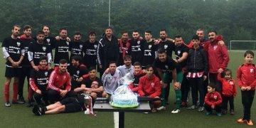 Eving Selimiyespor yenilgisiz şampiyon