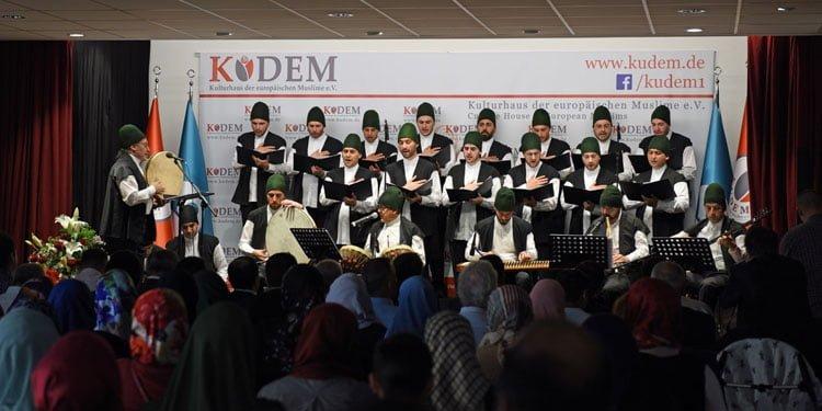 KUDEM'den Tasavvuf Musikisi ziyafeti