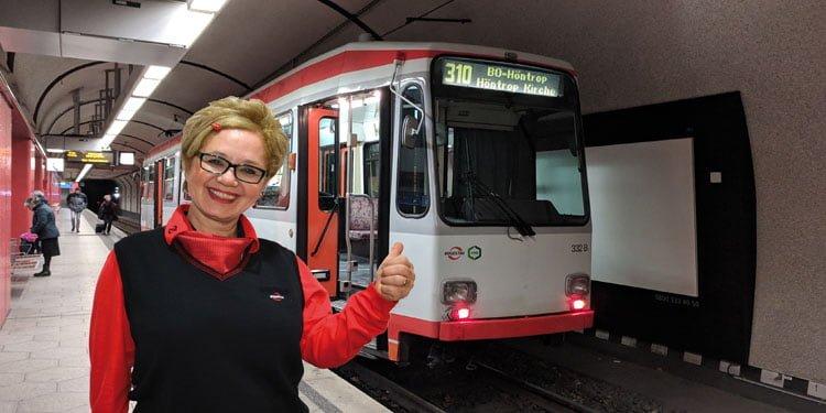 Almanya'nın ilk Türk kadın vatmanı