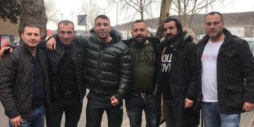 Avni Yıldırım Dinslaken Beşiktaşlılar Derneği'ni ziyaret etti