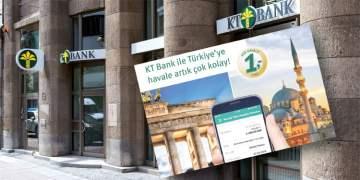 KT BANK İLE TÜRKİYE HAVALE DAHA KOLAY
