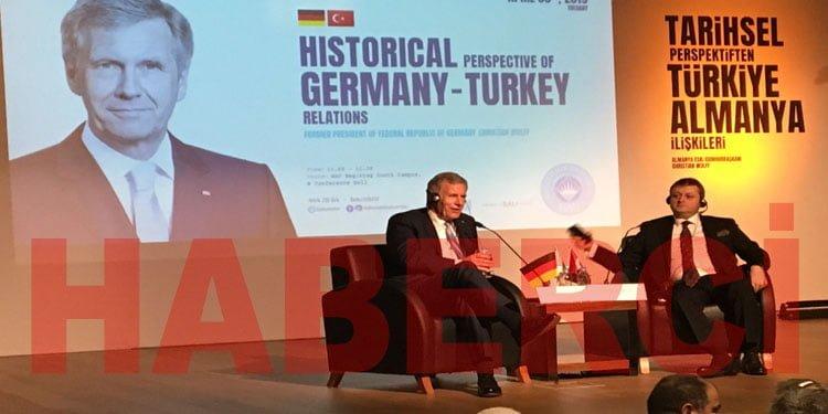 """Wulff:""""Almanya ile Türkiye'nin daha fazla yakınlaşma zamanı gelmedi mi"""""""