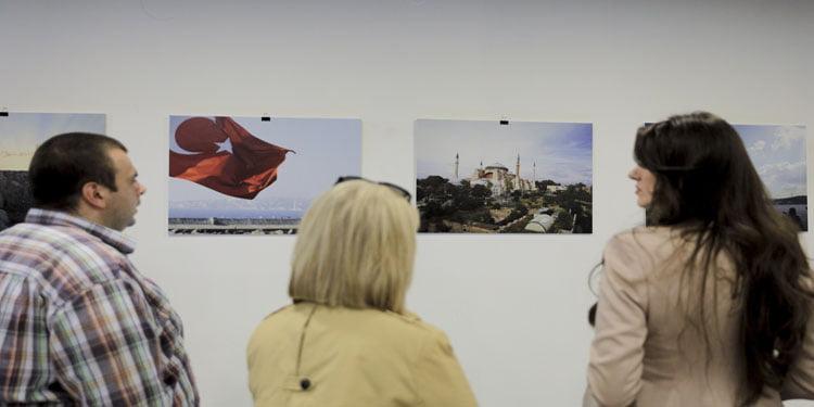 """Saraybosna'da """"Bir mimarın gözünden Türkiye"""" sergisi"""