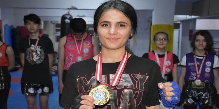 Gül Yücel: Hedefim Avrupa şampiyonu olmak