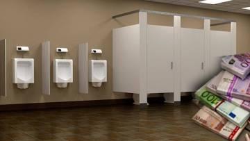 Otoban tuvaletinde 10 bin euro buldular