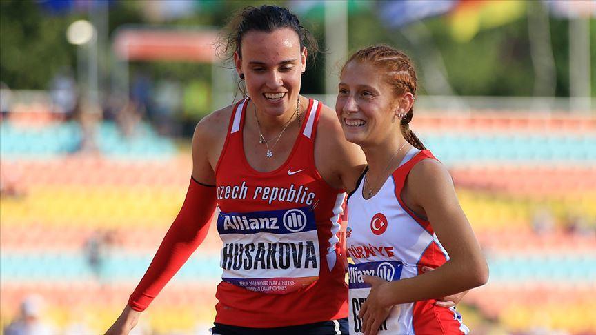 Dünya Gençler Para Atletizm Şampiyonası'nda 2 altın madalya