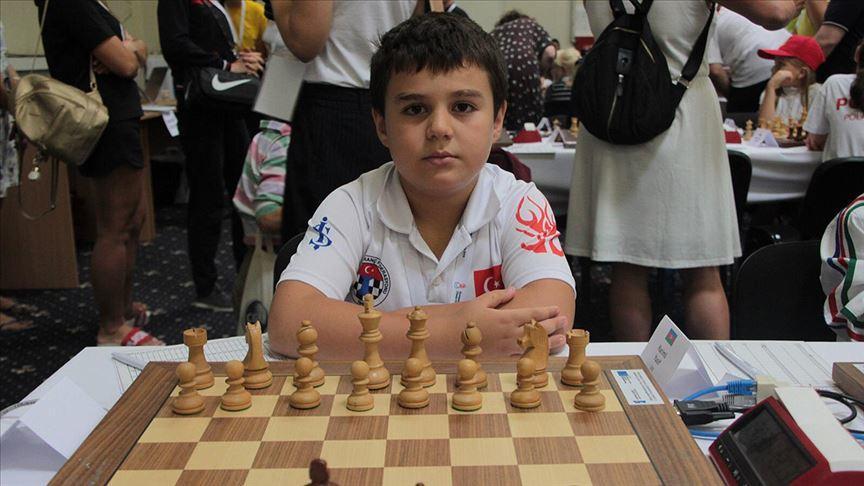 8 yaşında '8'de 8′ yaparak Avrupa şampiyonu oldu