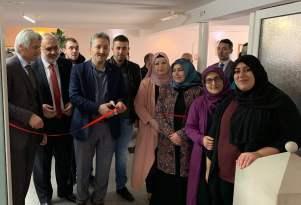 Camide gençlik merkezi açılışı