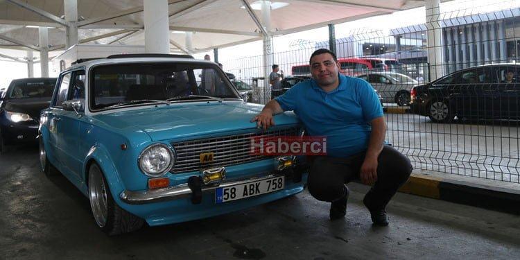 Hacı Murat ile Almanya'ya yola çıktı