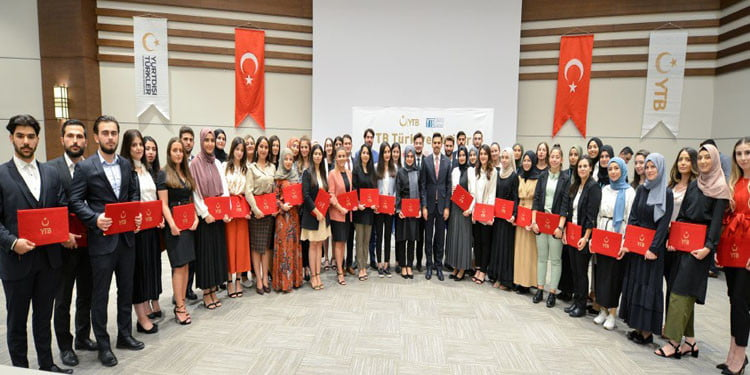 8'inci Dönem Türkiye Stajları Sertifika Töreni Gerçekleştirildi