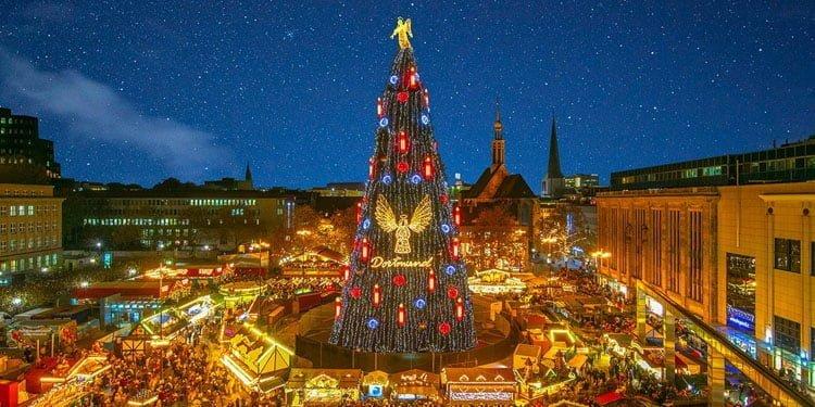 En büyük Noel Pazarı 121.'inci kez kapılarını açıyor