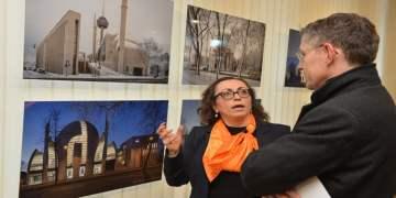 """DİTİB'de """"Mimari Fotoğraflar"""" sergisi açıldı"""
