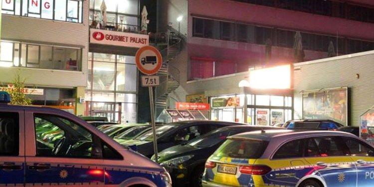 Stuttgart'ta nargile kafeye silahla ateş açıldı