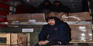 Türk tırından 3 mülteci çıktı