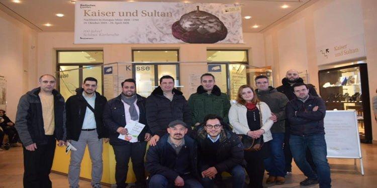 Almanya Türk Ocakları 'Sultan ve Kaiser'i gezdi