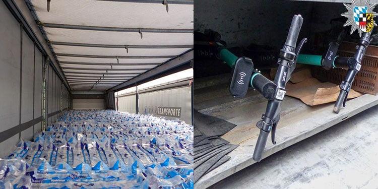 Çalıntı E-Scooter aranırken 40 ton tuvalet kağıdı bulundu