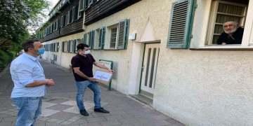 Almanya'da gençlerden örnek davranış