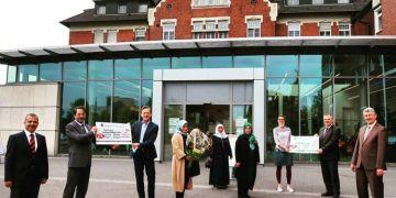 DİTİB camilerinden sağlık çalışanlarına bin euro bağış
