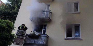 Dortmund'daki yangında 1 ölü
