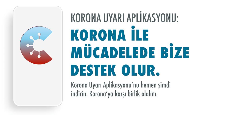 Türkçe korona uyarısı başladı