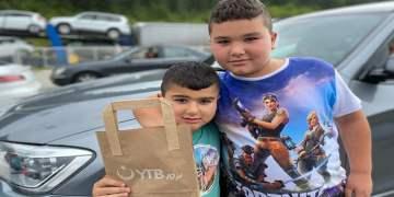 YTB'den Sırbistan sınırında hijyen paketleri