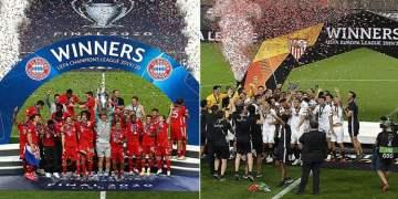 Bayern Münih ve Sevilla, Avrupa'da 6. kez şampiyon