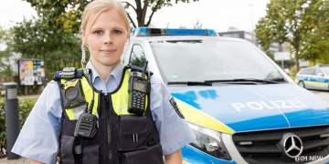 NRW'de polise vücut kamerası