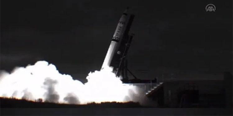 İlk yerli sonda roketi uzayda