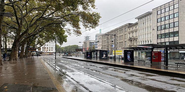 Toplu taşıma çalışanları greve gitti