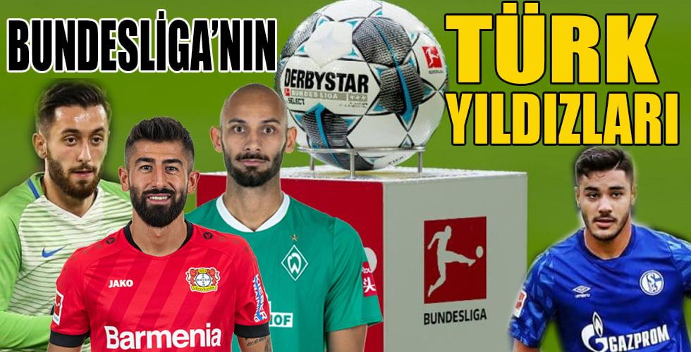 Bundesliga'da bu sezon forma giyecek Türk futbolcular