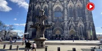 Almanya'da uyarı sirenleri çalındı (VİDEO)