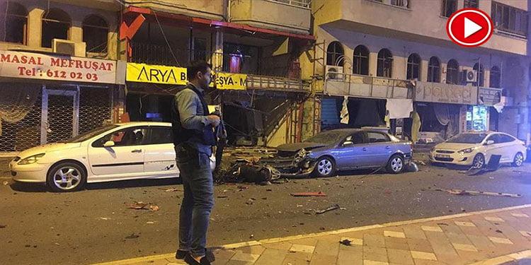 Hatay'da patlama meydana geldi (VİDEO)