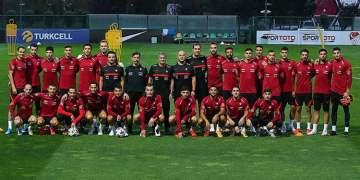 Milliler Almanya maçına hazırlanıyor