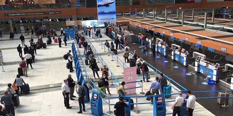 Avrupa'nın en yoğun beşinci havaalanı, Sabiha Gökçen