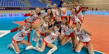 17 Yaş Altı Kızlar Avrupa Şampiyonası'nda yarı finale yükseldik