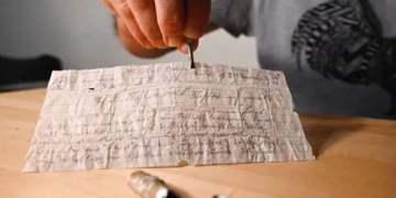 110 yıllık Alman askeri mesajı bulundu
