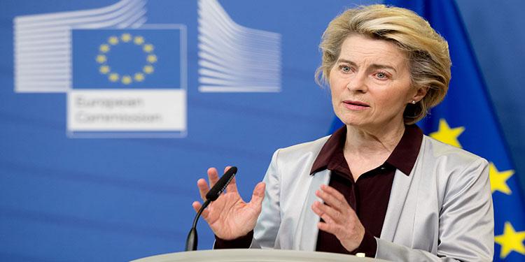 """AB Komisyonu Başkanı von der Leyen: """"Schengen işlemeyince Avrupa durma noktasına geldi"""""""