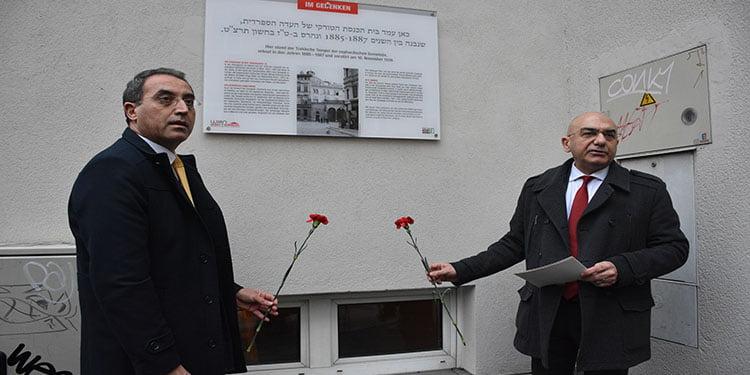 """Avusturya'da Nazi döneminde yakılan """"Türk mabedi"""" için anma"""