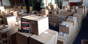 1 milyon euroluk Neo Nazi kitapları ele geçirildi