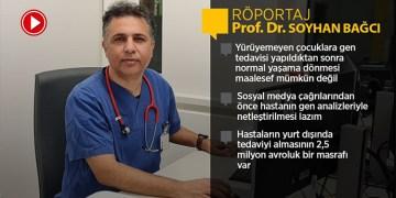 Bonn Üniversitesi'nden Prof. Dr. Soyhan Bağcı, SMA gen tedavisinde merak edilenleri anlattı (VİDEO)