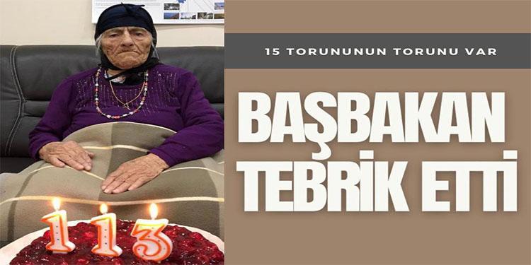 113 yaşındaki Hazno Nineye Laschet'ten tebrik