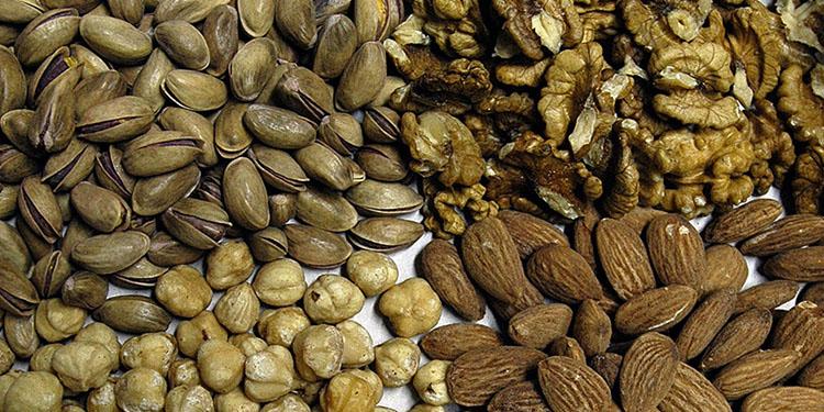 Orta yaşlardan itibaren kabuklu yemiş tüketmek bunama riskini azaltıyor